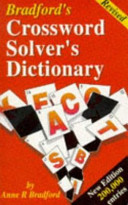Bradford's Revised Crossword Solver's Dictionary
