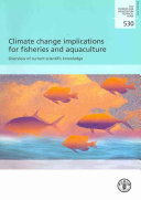 Climate Change Implications For Fisheries And Aquaculture Book PDF
