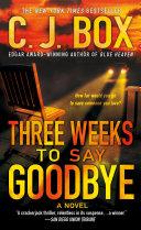 Three Weeks to Say Goodbye Pdf/ePub eBook