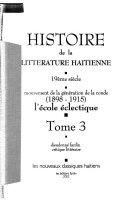 Histoire de la littérature haïtienne