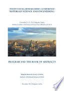 Program And The Book Of Abstracts Tenth Young Researchers Conference Materials Science And Engineering December 21 23 2011 Belgrade Serbia Book PDF