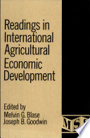 Readings In International Agricultural Economic Development