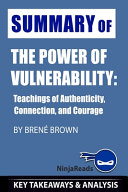 Summary of The Power of Vulnerability