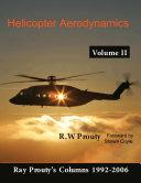 Helicopter Aerodynamics Volume II
