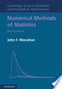 Numerical Methods of Statistics