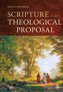 Scripture: A Very Theological Proposal [Pdf/ePub] eBook