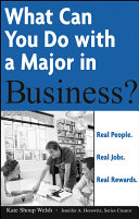 What Can You Do with a Major in Business?