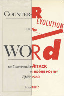 Counter-revolution of the Word: The Conservative Attack on ...