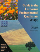 Guide to the California Environmental Quality Act  CEQA