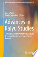 Advances in Kaiyu Studies Book
