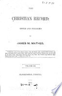 The Christian Record