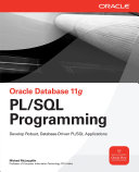 Oracle Database 11g PL/SQL Programming