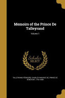 MEMOIRS OF THE PRINCE DE TALLE