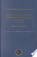 Early Histories Of Economic Thought 1824 1914 Types Of Economic Theory