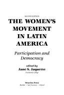 The Women s Movement In Latin America Book