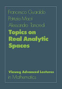 Topics on real analytic spaces