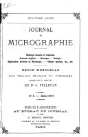 JOURNAL DE MICROGRAPHIE