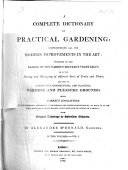 A Complete Dictionary of Practical Gardening