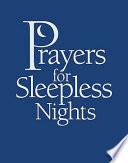 """Prayers for Sleepless Nights"" by Helen Lambin"