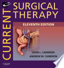 """Current Surgical Therapy E-Book"" by John L. Cameron, Andrew M. Cameron"