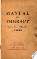 Manual of Therapy