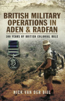 British Military Operations in Aden and Radfan ebook
