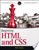 """""""Beginning HTML and CSS"""" by Rob Larsen"""