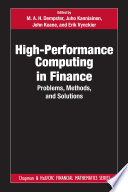 High-Performance Computing in Finance