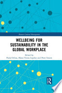 Wellbeing for Sustainability in the Global Workplace Book