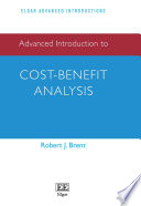 Advanced Introduction To Cost Benefit Analysis Book PDF