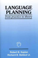 Language Planning from Practice to Theory