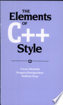 The Elements of C   Style