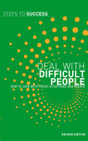 Deal with Difficult People [Pdf/ePub] eBook