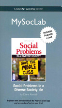 Social Problems In a Diverse Society MySocLab Access Code