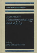 Handbook of Neuropsychology and Aging