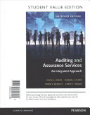 Auditing and Assurance Services  Student Value Edition