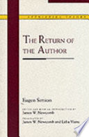 The Return of the Author