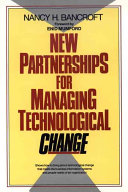 New Partnerships for Managing Technological Change Book