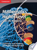 Mathematics For The Ib Diploma Higher Level With Cd Rom