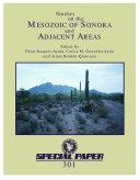 Studies on the Mesozoic of Sonora and adjacent areas Pdf/ePub eBook