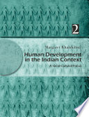 Human Development In The Indian Context Volume Ii Book