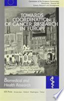Towards Coordination of Cancer Research in Europe Book
