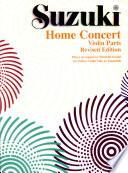 Home Concert  Violin Parts