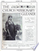 Church Missionary Gleaner Afterw C M S Gleaner Afterw The Church Missionary Outlook Afterw The C M S Outlook