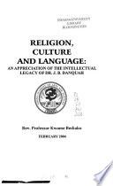 Religion, Culture, and Language