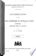 Contributions to an Economic Knowledge of Australian Rusts  Uredineae