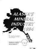 Alaska s Mineral Industry