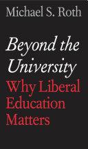 Pdf Beyond the University Telecharger