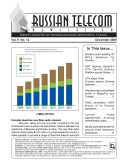 Russia Telecom Monthly Newsletter December 2009 [Pdf/ePub] eBook