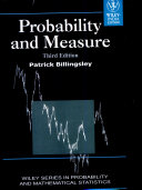 PROBABILITY AND MEASURE, 3RD ED